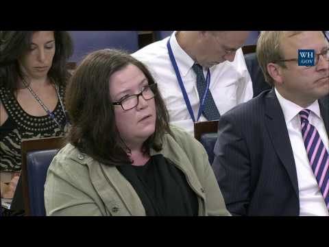 7/15/16: White House Press Briefing