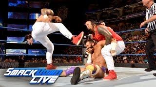 The Hype Bros vs. The Usos: SmackDown LIVE, 13. September 2016