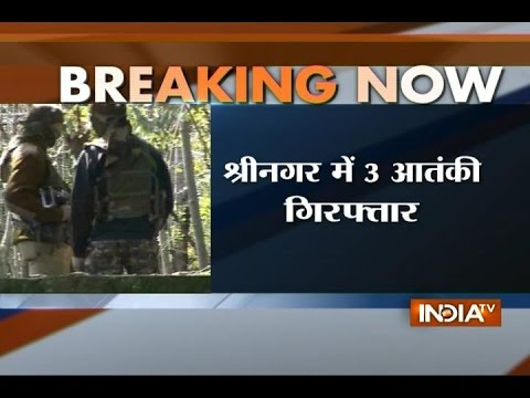 Arms Recovered from 3 Terrorists in Srinagar, 3 Killed in Kupwara