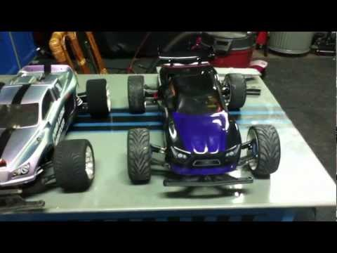 Rustler Mamba Monster Chassis To Body Mod. Rcspeedjunkies video