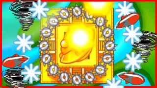 THE ULTIMATE TEMPLE OF THE MONKEY GOD! - Bloons TD Battles Strategy - STRONGEST MONKEY TEMPLE EVER!