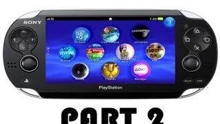 CGRundertow PLAYSTATION VITA Video Game Console Review Part 2