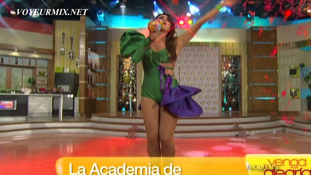 Tania Rincon Descuido Venga La Alegria - YouTube