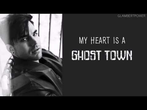 Adam Lambert Ghost Town Lyrics (dirty)