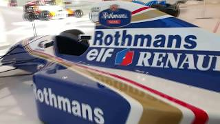 F1 Renault Williams FW16 Rothmans of Ayrton Senna, his last Formula One racing car