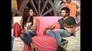 Krishna Vamsi interviews Ram Charan and Kajal Agarwal - idlebrain.com