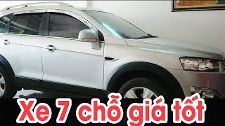 Chevrolet Captiva 2013 NGUYÊN BẢN 7 CHỖ chốt giá tốt 460 triệu | Kiếm 4 bánh