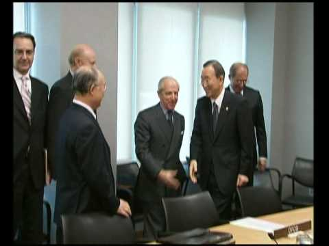NetworkNewsToday: YUKIYA AMANO, NEW IAEA DIRECTOR & U.N. S-G BAN KI-MOON DISCUSS NUCLEAR ISSUES (UNTV)
