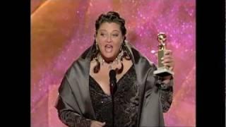 Camryn Manheim Wins Best Supporting Actress TV Series - Golden Globes 1999