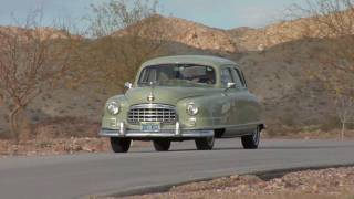 1950 Nash Airflyte Ambassador Super Test Drive Viva Las Vegas Autos