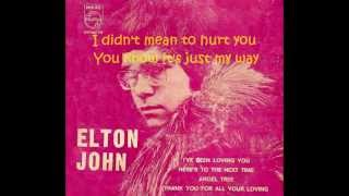 Watch Elton John Ive Been Loving You video