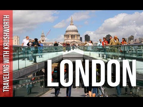 London, England: Tourism Attractions (HD) - Great Britain -Travel Vlog - London England Travel Guide