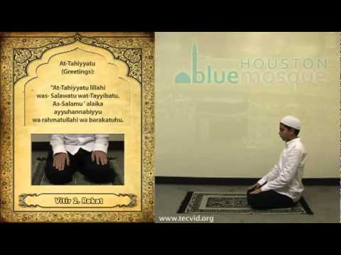 How To Pray Namaz Isha Vitr video