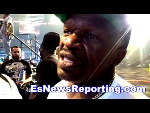 Floyd Mayweather Sr on mayweather vs ggg