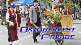 Oktoberfest  Parade. München.  Октоберфест Парад. Мюнхен.