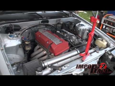Corolla with a S2000 engine Swap