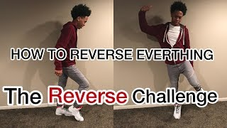 DANCE TUTORIAL | HOW TO REVERSE ALL THE DANCE MOVES | #ReverseChallenge