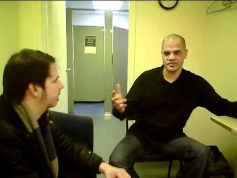Dave Fiuczynski interviewed by DooBeeDooBeeDoo's Jim Hoey at Bam Cafe (Brooklyn), Jan 29 2011