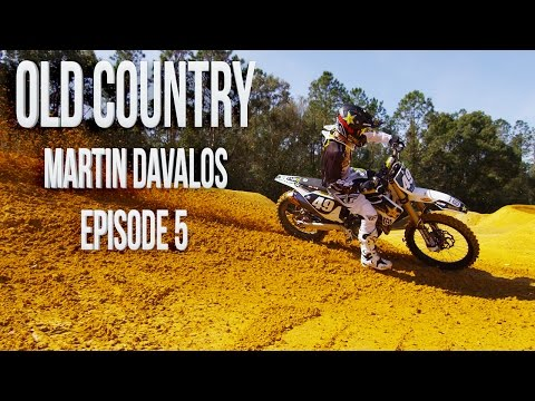 Martin Davalos Supercross Practice with Chad Reed  Old Country  Motocross Action Magazine