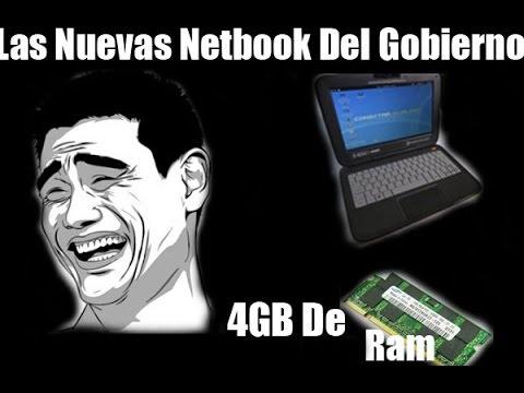 Las Nuevas Netbook Del Gobierno 2014-2015 (4 GB De Ram)