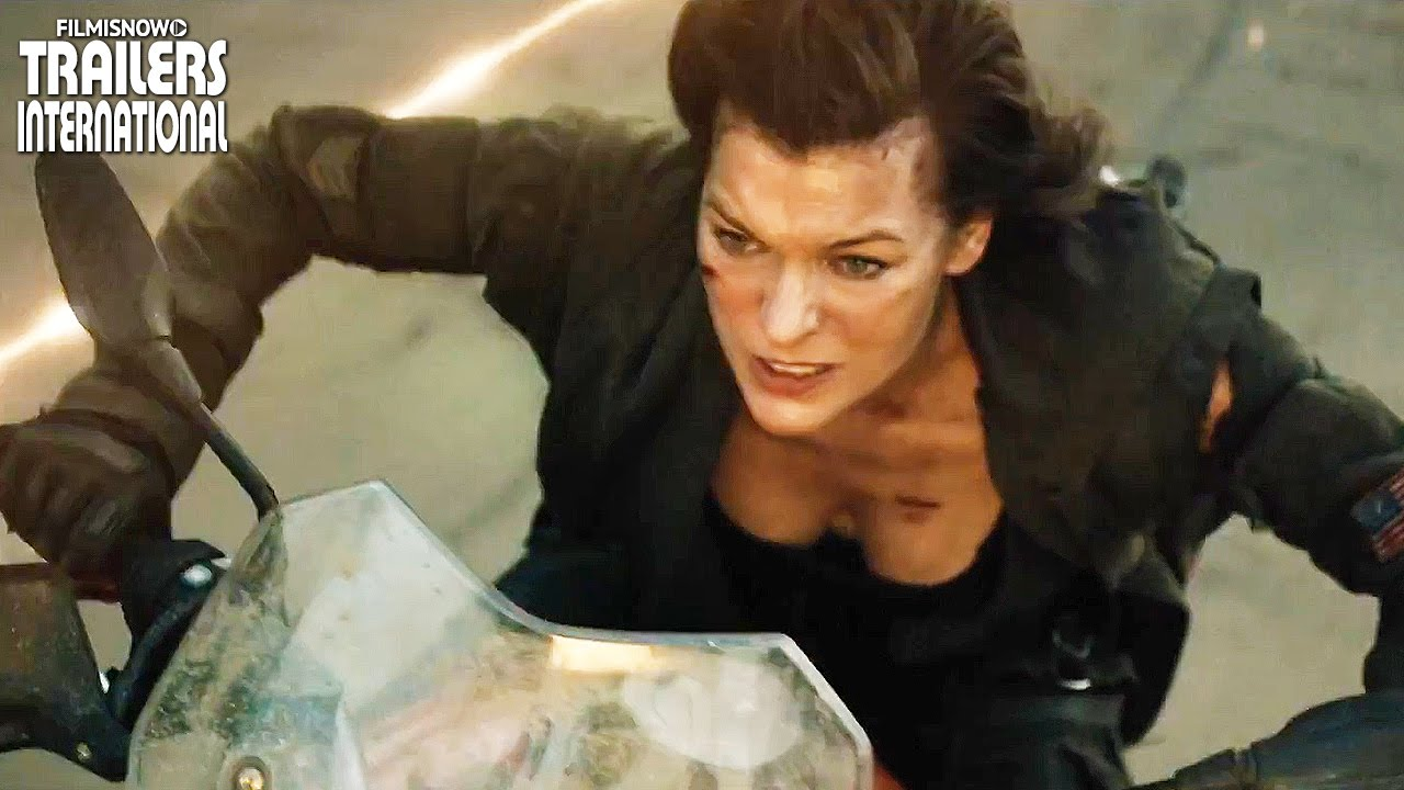 Evil comes home in the RESIDENT EVIL: THE FINAL CHAPTER International Trailer