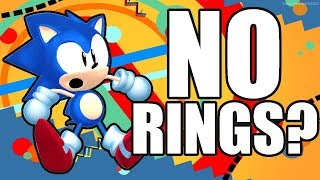 Can you beat Sonic Mania without collecting any Rings?