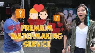 Ah Lian VLOG #9: Premium Lian goes matchmaking along Orchard Road!