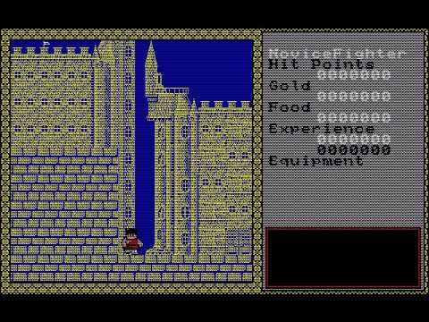 [PC-88] Dragon Slayer II - Xanadu (1985) (Nihon Falcom)