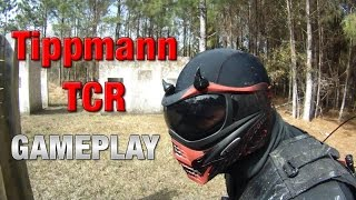 DIABLO - TIPPMANN TCR GAMEPLAY - Magfed Paintball