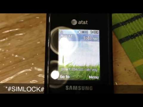 How to unlock Samsung A157 from AT&T