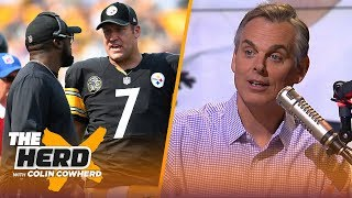 Colin Cowherd analyzes the fall of the Steelers and the suddenly hot Patriots | NFL | THE HERD