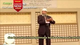 Dr. Zakir Naik Bagaimana Belajar Islam di Sekolah Jepang