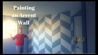 Painting an Accent Wall Pt2