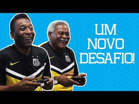 A dupla Pelé e Coutinho em um novo desafio!