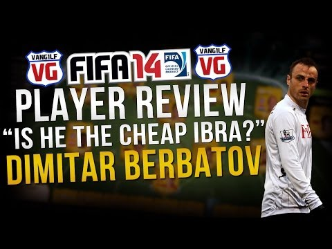 Next Gen FIFA 14 Berbatov (Beastatov) Player Review - Is he the cheap Ibrahimovic? FUT online goals