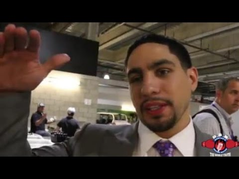 WHAT DOES DANNY GARCIA THINK ABOUT FACING KEITH THURMAN NEXT?