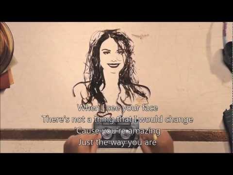 Bruno Mars - Just the way you are (with lyrics) Amazing lyrics...