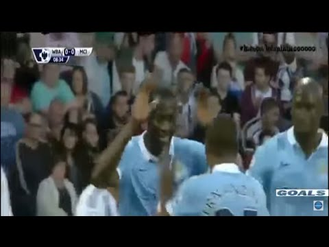 Manchester City vs West Brom 3-0 All Goals and Highlights
