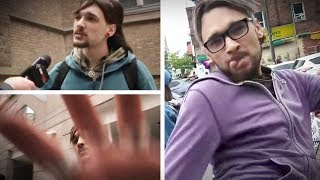 Man who kicked pro-life woman ASSAULTS Rebel reporter outside court | David Menzies
