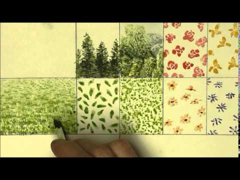 How to Paint Grass in Watercolor Painting Grass With Watercolor