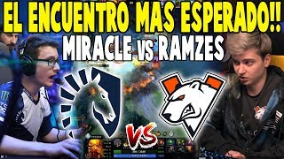 "¡PARTIDAZA! Liquid vs VP [Bo3] - ""Miracle vs Ramzes"" - MDL DISNEYLAND PARIS MAJOR DOTA 2"