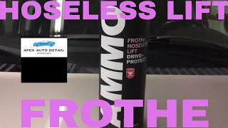 AMMO Frothe Hoseless Lift Concentrate!!!!  A Rinseless/Waterless Concentrate For Hand Pump Sprayers!