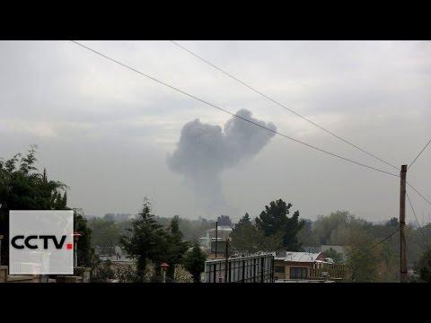 Taliban suicide bombing, gunfire rattle Kabul, capital of Afghan