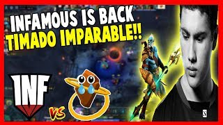 INFAMOUS vs ROOONS - TIMADO IMPARABLE!! - KING'S CUP 2 | DOTA 2