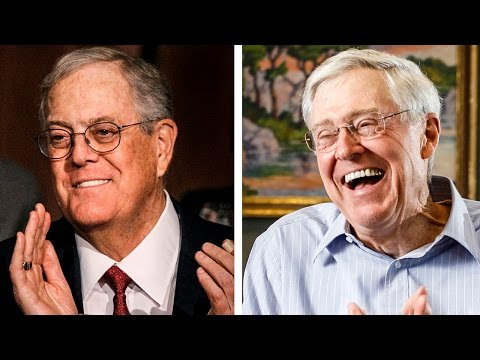 The Kochs Take Revenge On Wisconsin; Bloodsucking Brothers Peddling Political Corruption