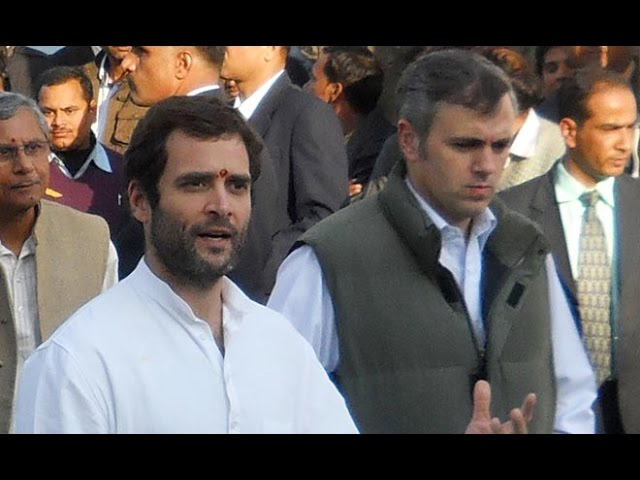 National Conference And Congress Fight Escalates In Jammu and Kashmir