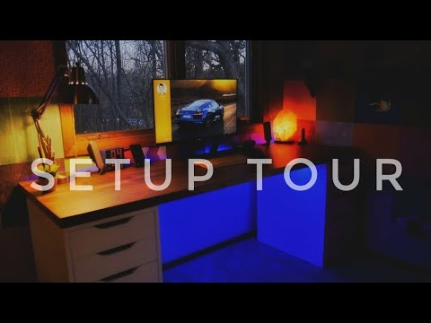 Desk Setup Tour - Late 2017