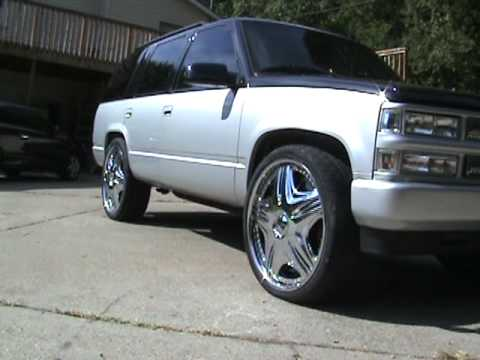 26 inch dub floaters spinners donk box bubble bass spl tahoe l