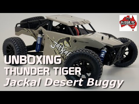 Unboxing: Thunder Tiger Jackal 1/10 Scale Desert Buggy