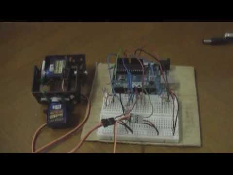 Arduino Solar Tracker (simple code)
